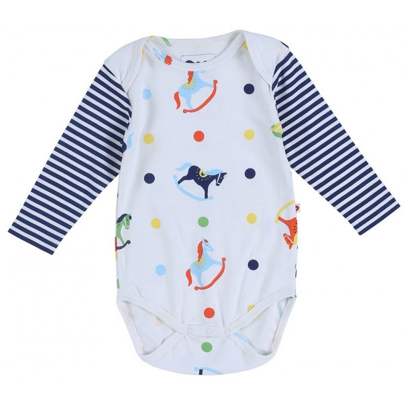 Rocking Horse Baby Body Piccalilly